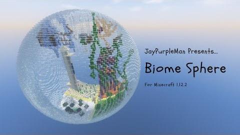 Biome Sphere Parkour [1.12.2]