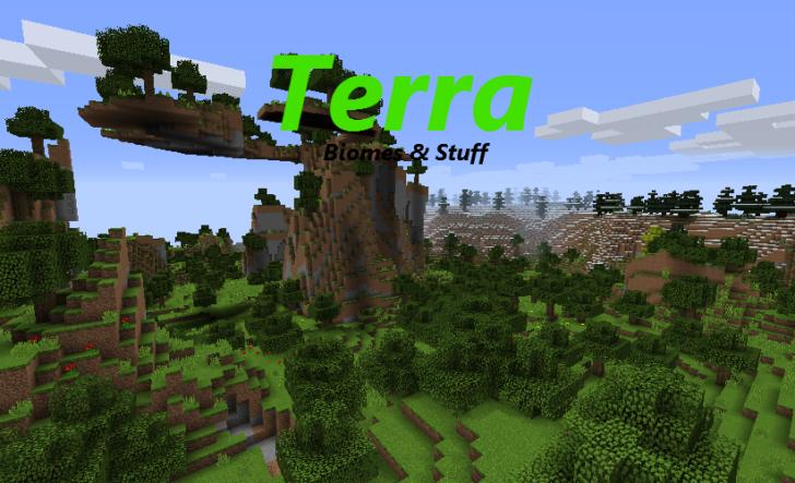 Terra (37 новых биомов) [1.12.2] [1.11.2]