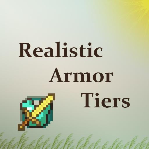 Realistic Armor Tiers - реалистичная броня [1.12.2] [1.10.2]