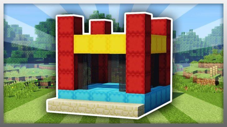 MrCrayfish's Jumping Castle - надувной батут [1.12.2]