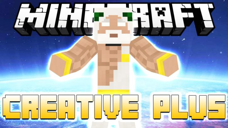 Creative Plus - улучшенный творческий режим [1.12.2] [1.11.2] [1.10.2]