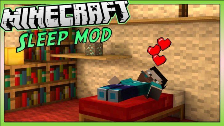 Faster Sleeping - быстрый сон без анимации [1.12.2]