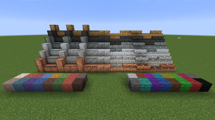 Substrate - крутые металлические блоки [1.12.2]