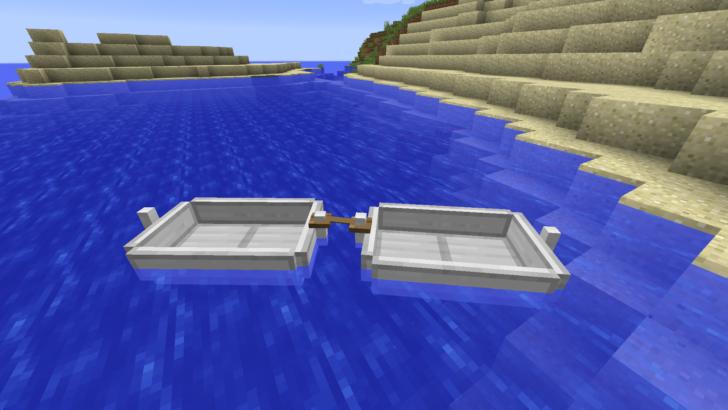 Moar Boats [1.12.2] (лодки с автопилотом)