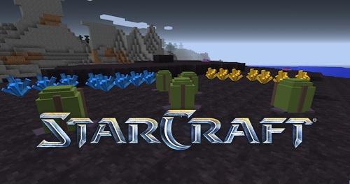 StarCraft мод [1.12.2] [1.10.2] [1.7.10]