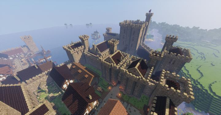 Средневековый замок и город [1.12.2]