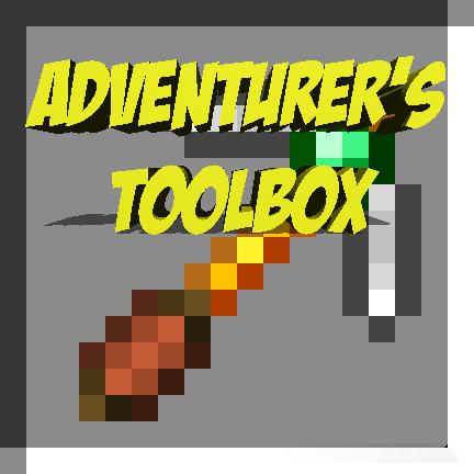 Adventurer's Toolbox - много оружия и инструментов [1.12.2]
