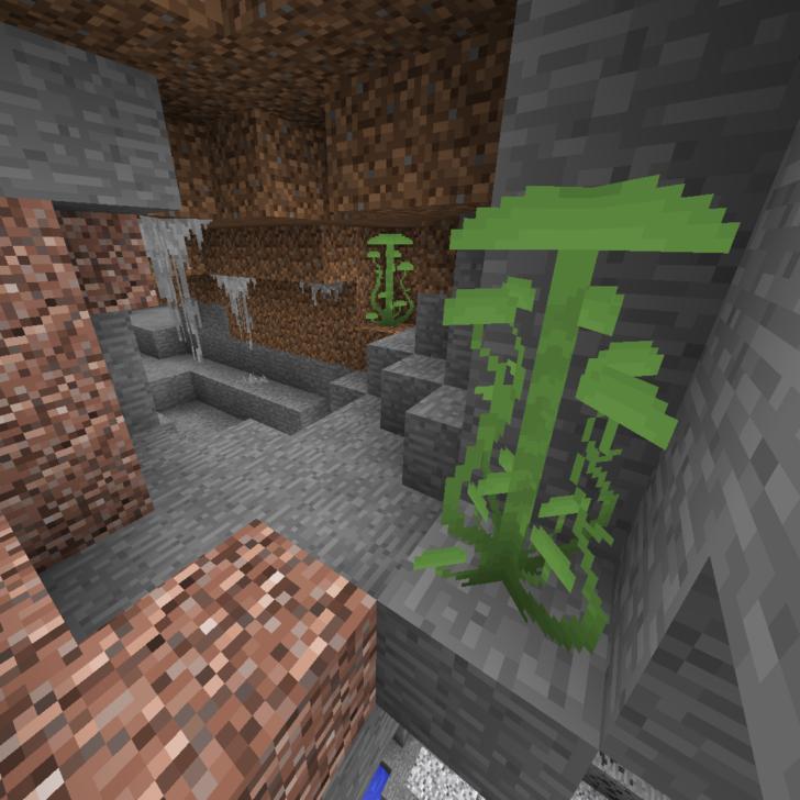 Better Underground - улучшенные пещеры [1.12.2]