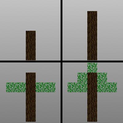 Trees of Stages - реалистичный рост деревьев [1.12.2]