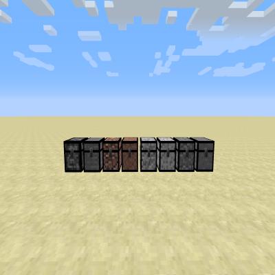 Stone Chests - каменные сундуки [1.12.2]