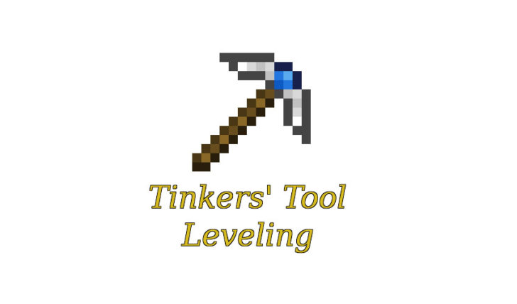 Tinkers' Tool Leveling - улучшение инструментов [1.12.2] [1.11.2] [1.10.2]