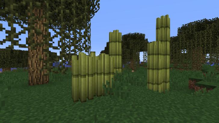 Bamboozled - полезный бамбук [1.12.2]