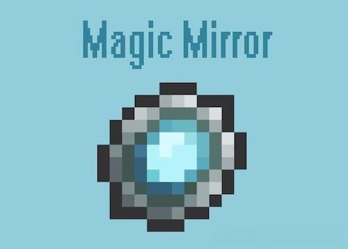 Magic Mirror - магическое зеркало телепортации [1.14.4] [1.12.2] [1.11.2]