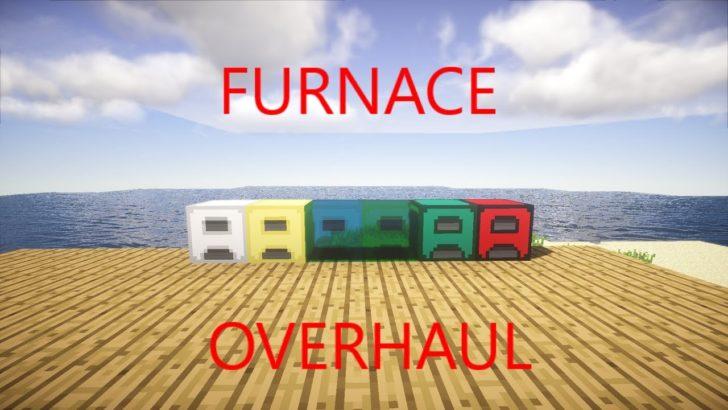 Furnace Overhaul - 6 новых видов печек [1.12.2] [1.10.2]