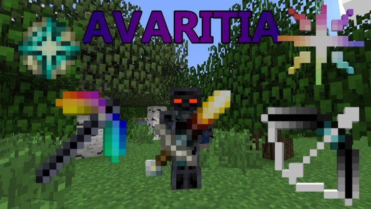 Avaritia - мощное оружие и броня [1.12.2] [1.11.2] [1.10.2] [1.7.10]