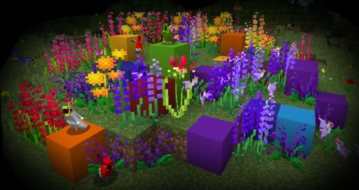 Ferdinand's Flowers - 108 новых видов цветов [1.12.2]