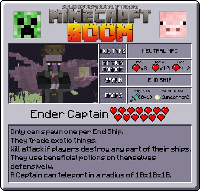 Minecraft Boom - новые инструменты, мобы и блоки [1.12.2]