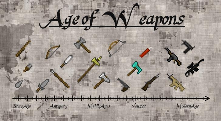Age of Weapons - оружие, броня и магия [1.12.2] [1.11.2]