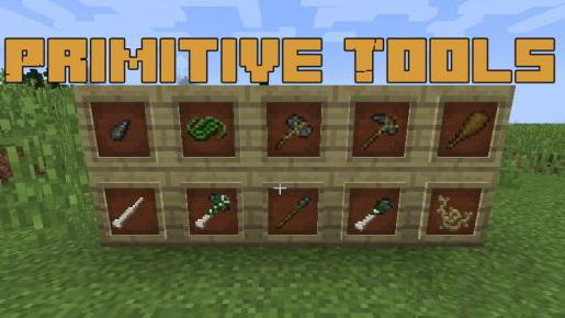 Primitive Tools - примитивные инструменты [1.12.2]