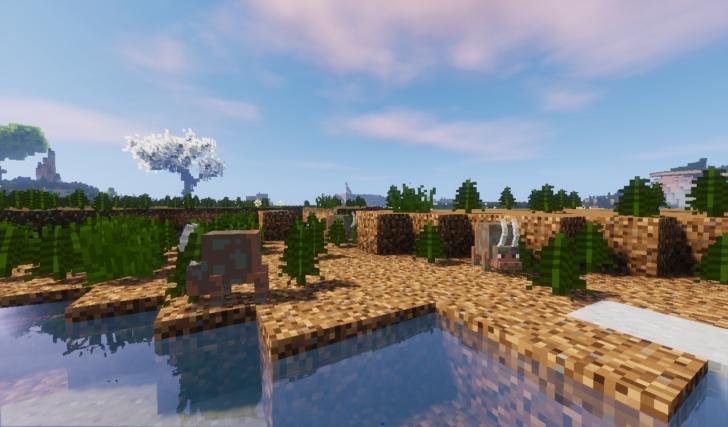 Bryte - 7 биомов и более 100 новых блоков [1.12.2]