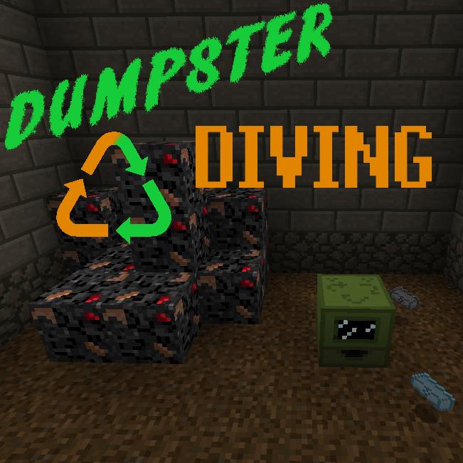 Dumpster Diving - утилизация мусора [1.12.2]