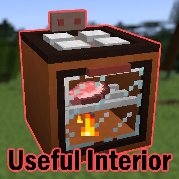 Useful Interior - полезная мебель и бытовая техника [1.12.2]