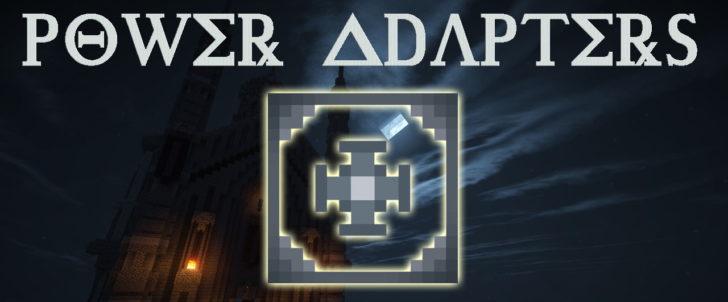 Power Adapters - конвертер энергии [1.12.2]