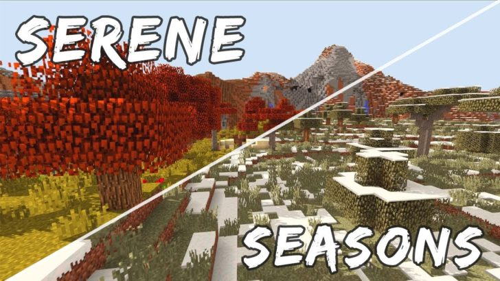 Serene Seasons - смена времен года [1.12.2]