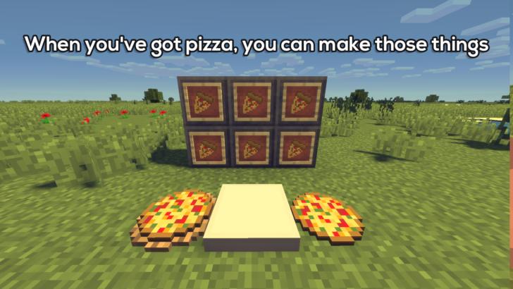 PizzaCraft - много пиццы [1.12.2]