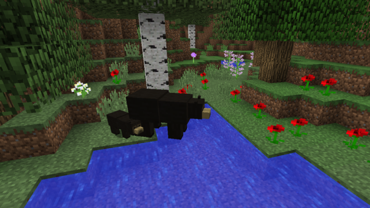 Bear With Me - панды, гризли и черные медведи [1.12.2] [1.11.2] [1.10.2]