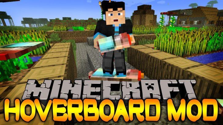 Hoverboard - ховерборд из Назад в будущее [1.12.2]
