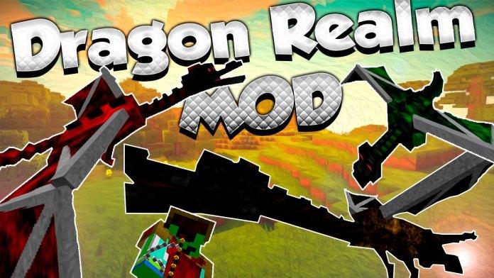 Realm of The Dragons - приручи дракона [1.12.2] [1.11.2] [1.10.2]