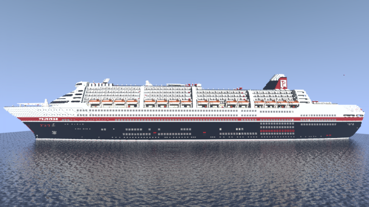 MS Poseidon - огромный лайнер [1.12.2]
