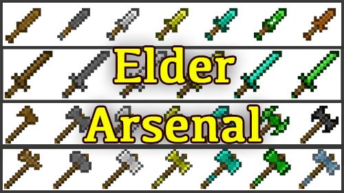 Elder Arsenal - коллекция средневекового оружия и щитов [1.12.2]