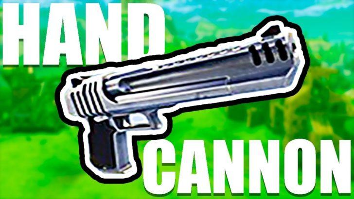 Hand Cannon - пушка стреляющая ядрами [1.12.2]
