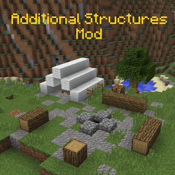 Additional Structures - 80 новых построек [1.12.2]
