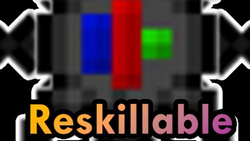Reskillable - 8 новых навыков [1.12.2]