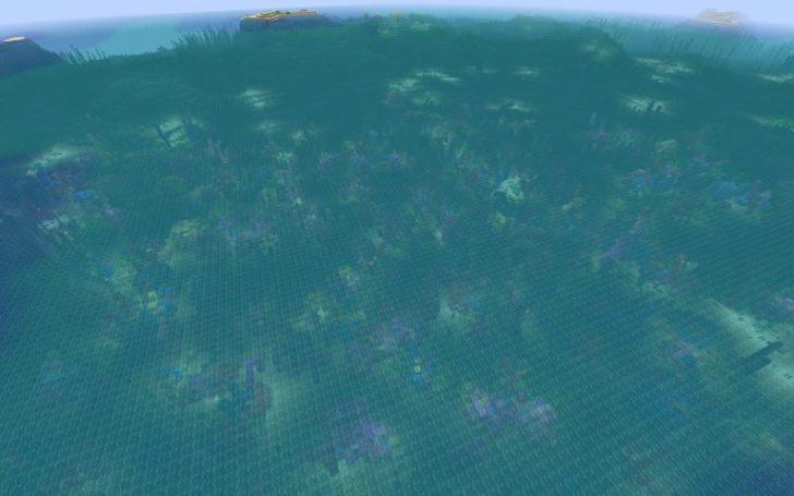 Сид - Коралловый риф рядом с маленьким островом [1.13.2]