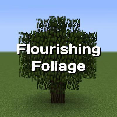 Flourishing Foliage - восстановление листвы [1.12.2]