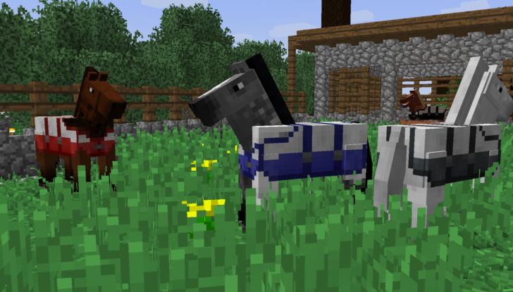 A Fistful Of Hay - аксессуары для лошадей и конюшни [1.12.2]