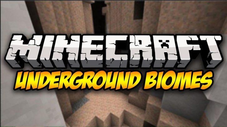 Simple Underground Biomes - подземные биомы [1.12.2]