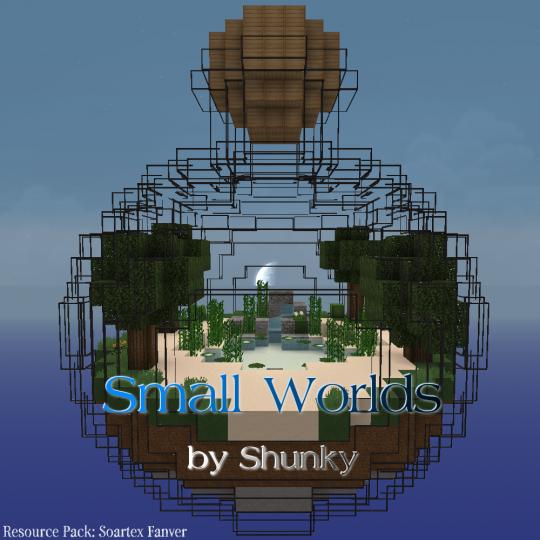Small Worlds - выживание в стеклянной банке [1.13.2]