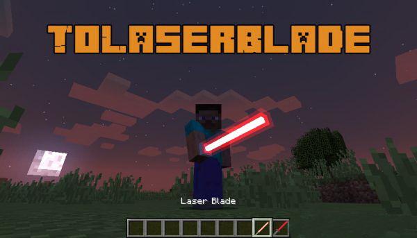 ToLaserBlade [1.14.4] [1.13.2] [1.12.2] (световые мечи)