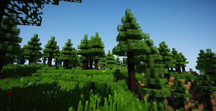 Oh The Biomes You'll Go - 45 новых биомов  [1.12.2]