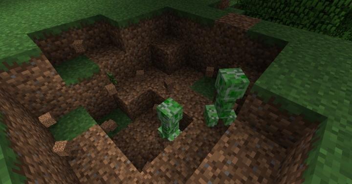 Organic Creepers - крипер растение [1.12.2]