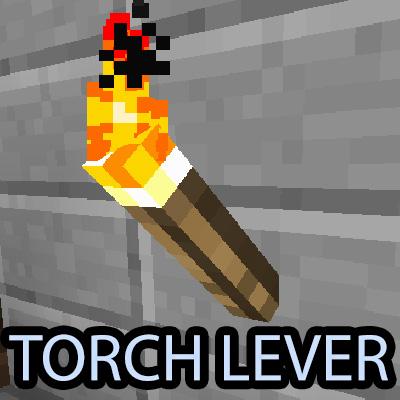Torch Lever - факел-рычаг [1.13.2] [1.12.2]