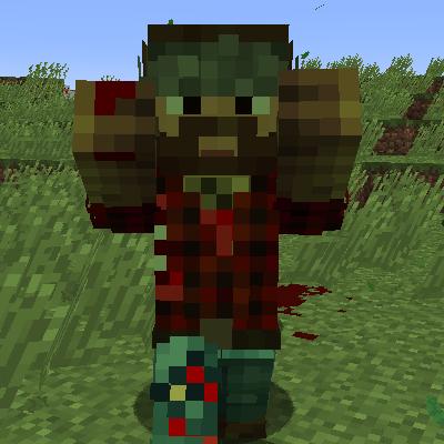Zombie Players - зомби-игроки [1.12.2]