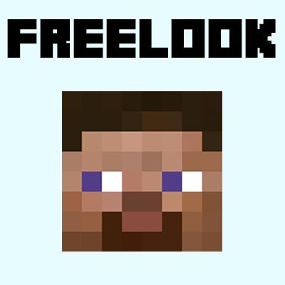 FreeLook - поворот головы не затрагивая тела [1.13.2] [1.12.2]
