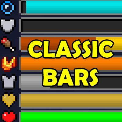 Classic Bars [1.14.4] [1.12.2] (удобный интерфейс)