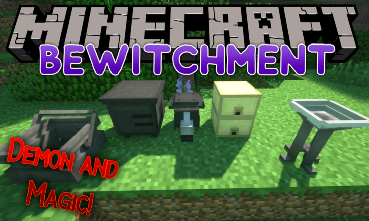 Bewitchment - демоны и темная магия [1.12.2]